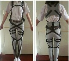 Attack On Titan Shingeki no Kyojin Cosplay Adjustable Harness Straps Belts