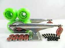 Independent 169 Skateboard Trucks + Powell Peralta 64mm Mini Cubic Green Wheels