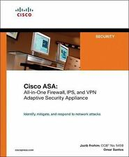 Cisco ASA: All-in-One Firewall, IPS, and VPN Adaptive Security Applian-ExLibrary