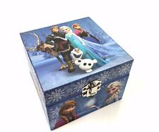 GIRLS CHILDRENS DISNEY FROZEN THEMED  MUSICAL JEWELLERY BOX TRINKET KEEPSAKE