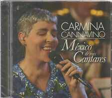 CD/DVD - Carmina Cannavino NEW Mexico De Mis Cantante FAST SHIPPING !