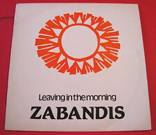 """Zabandis Leaving In The Morning 12"""" PC Lovers People Unite PUZ 3 b/w Dub Version"""