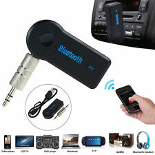 Wireless Bluetooth USB 3.5mm AUX Audio Stereo Music Home Car Receiver Adapter