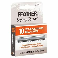 JATAI Barber Salon Feather Standard Blades 10 Blades SR-F120100