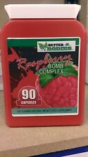 Raspberry Ketone MAX Complex Bomb Strong Diet Weight Loss 90 Capsules Bottle RED