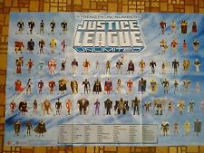 Justice League Unlimited SDCC Poster JLU Matel Promo Poster Bruce Timm Batman