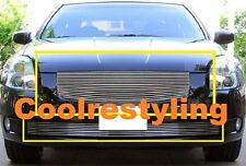 For 04 05 06 Nissan Maxima Billet Grille Combo 1pc upper + 1pc bumper inserts