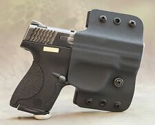 Smith & Wesson M&P Shield OWB holster 9mm .40 right hand black