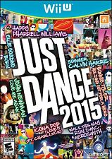 WII U JUST DANCE 2015 BRAND NEW VIDEO GAME