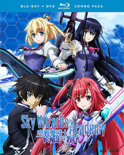 Sky Wizards Academy: The Complete Series (BD/DVD, 2016, 4-Disc Set)