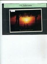 P421 # MALAYSIA USED PICTURE POST CARD * YOU ARE THE LIGHT OF THE WORLD