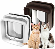 SureFlap DualScan Microchip Cat Door (White) - Microchip or Collar Tag