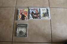 Shooter Games Mini Lot/Bundle PS3 Resistance Time Crisis 4 Bad Company and more