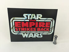 "Vintage star wars empire strikes back grand logo toile de fond pour l'affichage 16"" x 12"""