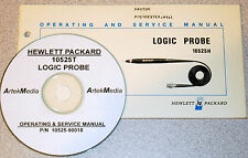 HP 10525T LOGIC PROBE OPERATING & SERVICE MANUAL