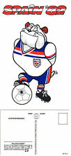 1982 SPAIN WORLD CUP LIMITED EDITION MINT POSTCARD BY VELDALE