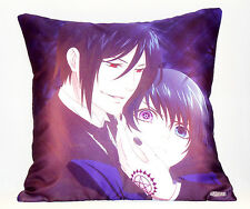 Kuroshitsuji satin pillow/cushion* 40x40 cm Black Butler Pillow *UK Stock* NEW !