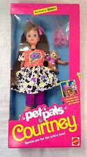 NEW IN BOX 1991 Pet Pals COURTNEY ~ Kitty With Pet Carrier #2710