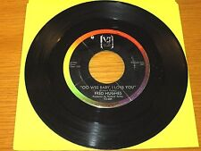 """NORTHERN SOUL 45 RPM - FRED HUGHES - VEE-JAY 684 - """"OO WEE BABY, I LOVE YOU"""""""