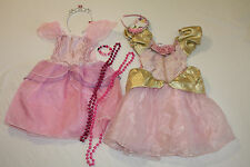Girls 7 Pc Princess Fairy Fantasy Pretend Dress-Up Halloween Costumes  Sz 4