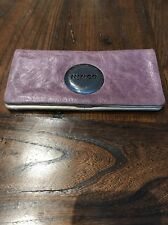 Purple Mimco Leather Wallet