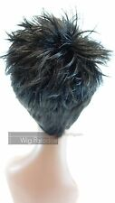 Vanessa Synthetic Short Straight Spike Style with Bangs Kola Wig