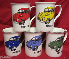 1 VW BEETLE car English Fine Bone China Mug Cup