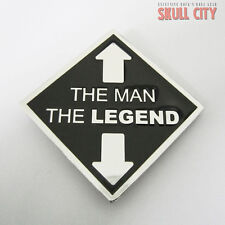 THE MAN the LEGEND BUCKLE - Belt BUCKLE - Porn Sex Hardcore porn Fun Gay XXX