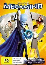 Megamind (DVD, 2011) Will Ferrell, Brad Pitt, Tina Fey, Jonah Hill *BNIP*