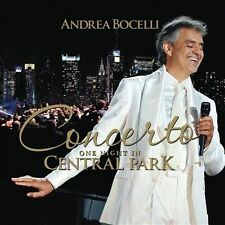 Andrea Bocelli Concerto One Night in Central Park unsealed brand new
