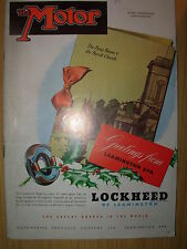 VINTAGE MOTOR MAGAZINE DECEMBER 26 1951 CHRISTMAS GREETINGS FROM LOCKHEED BRAKES