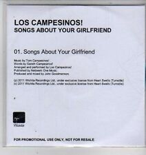 (CX79) Los Campesinos! Songs About Your Girlfriend - 2011 DJ CD