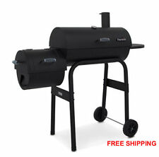 BBQ Barbecue Pit Charcoal Grill Patio Backyard Black Outdoor Smoker Party NEW