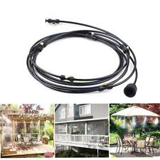 Outdoor Misting System Fan Cooler Water Cooling Portable Patio Mist Garden 3M