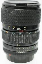 Tokina 28-70mm F2.8-4.3 Canon FD Mount Zoom Lens For A7 A7S A7R II Cameras