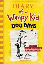 DOG DAYS Diary of a Wimpy Kid 4 Jeff Kinney NEW HB book