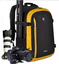 Men Travel DSLR Camera Backpack Rucksack Photographers For Nikon Canon Sony Bag