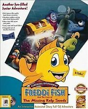 FREDDI FISH CASE OF THE MISSING KELP SEED HUMONGOUS Video Game
