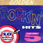 Golden Rockin Hits, Vol. 5 by Various Artists (CD) NEW!