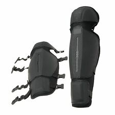 TACTICAL COSPLAY COSTUME ARMOUR SHIN GUARDS PAINTBALL AIRSOFT GEARS OF WAR HALO
