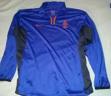 Rare Holland Player issue away Shirt Jersey Nike NETHERLANDS Long sleeved 2000 L