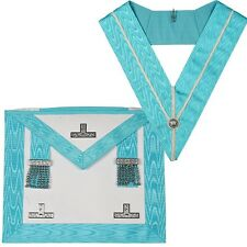 Caft Worshipfull Apron (lameskin) / And Past Master Collar With Jewel