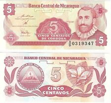 Nicaragua 5 Centavos 1991 P-168a2 UNC Uncirculated Banknote - UK Seller