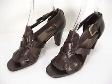 COLE HAAN NIKE AIR LEATHER STRAPS OPEN TOE SANDALS SHOES WOMEN'S 8 B