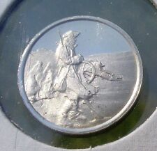 FRANKLIN Sterling SILVER Mini-Ingot: 1778 Winter At VALLEY FORGE Uncirculated