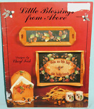 Little Blessings From Above Tole Painting Craft Pattern Book by Cheryl Frisk