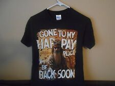REDUCED PRICE!! DUCK DYNASTY MEN'S SMALL 100% Cotton, Brown, Graphic T