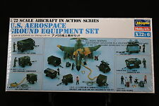 XN115 HASEGAWA 1/72 maquette avion X72-6 US Aerospace Ground Equipment Set NB