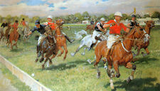 Ludwig Koch - The Polo Game - 24'  CANVAS