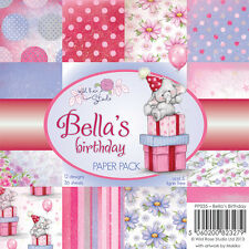 "Wild Rose Studio: 6""x6"" Paper Stack - Bella's Birthday"